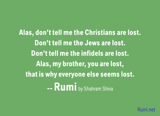 Rumi Poems By Shahram Shiva