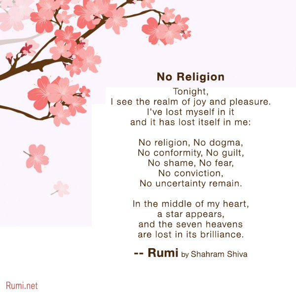 Rumi Poems By Shahram Shiva